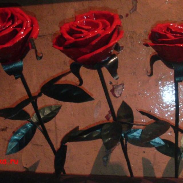 Ковка своими руками розы 32