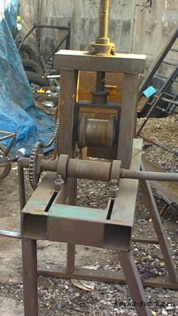 Ручная ковка металла- оборудование