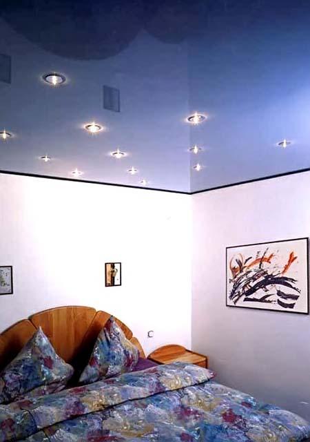 разновидности форм потолков