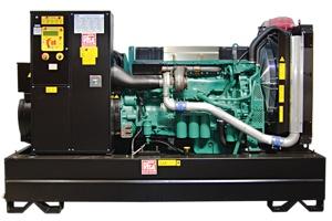 Генераторные установки - параметры двигателей