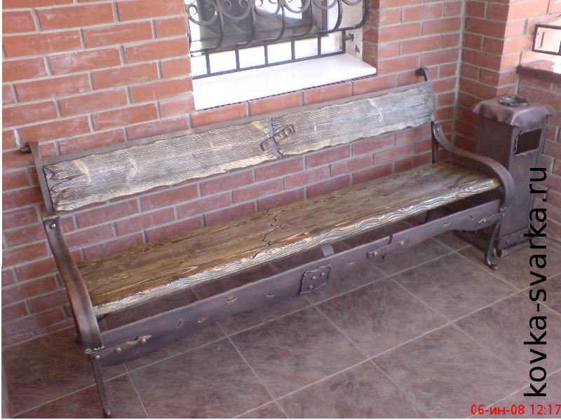 ковка-фото-скамейка