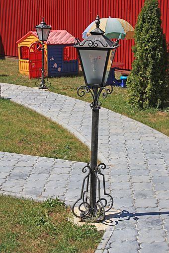 ковка-фонарь