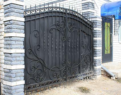 ковка- фото- ворота