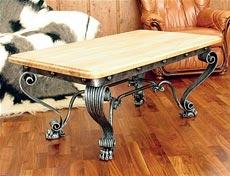 ковка фото столик