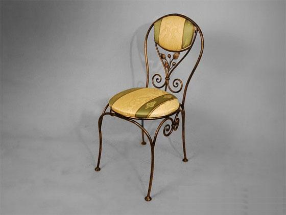 Чайное дерево- кованый стул