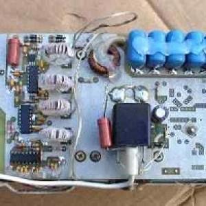 Трансформатор тока (в центре).