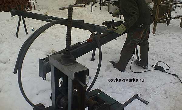 приспособление для холодной ковки