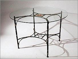Кованый стол «Бамбук»