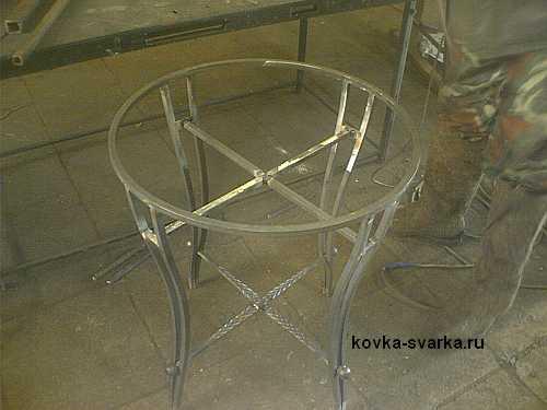 сварка столика