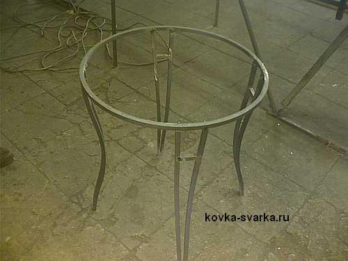 izgotovlenie-kovanogo-stolika-2