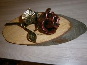 Кованая роза от Юрия Кондрашова