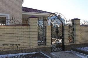 Калитка и забор от волгоградских кузнецов