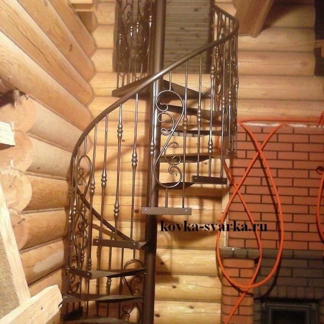 Фото кованой лестницы
