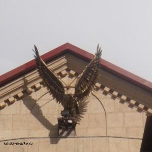 Фото кованой скульптуры