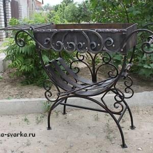 Переносной мангал из Волгограда