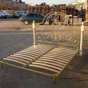 """Кованая кровать. Кузнечная фирма """"Молот63"""""""