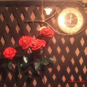 красивые кованые розы