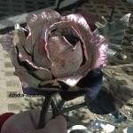 Фото кованой розы