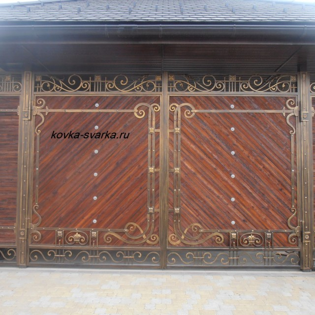 Фото ворот