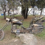 Фото кованого мотоцикла