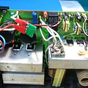 Блок управления инверторного сварочного аппарата
