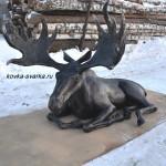 Фото кованого лося