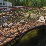 Фото кованого моста