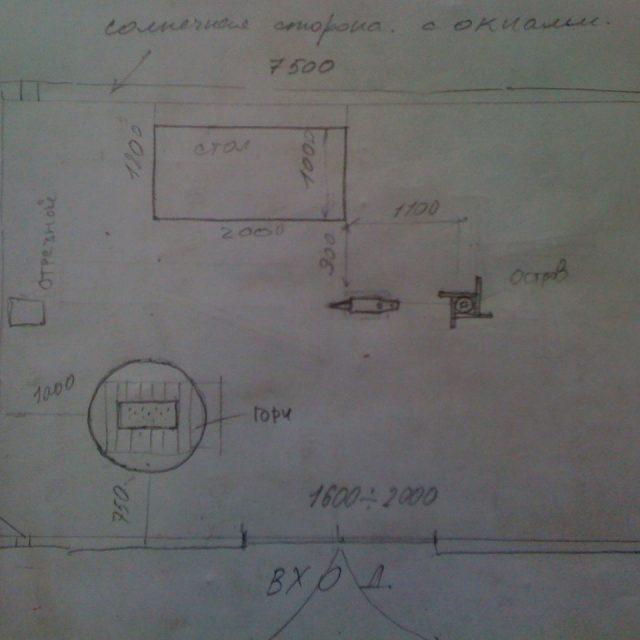 План- схема кузницы для тех, кто хочет самостоятельно заниматься ковкой