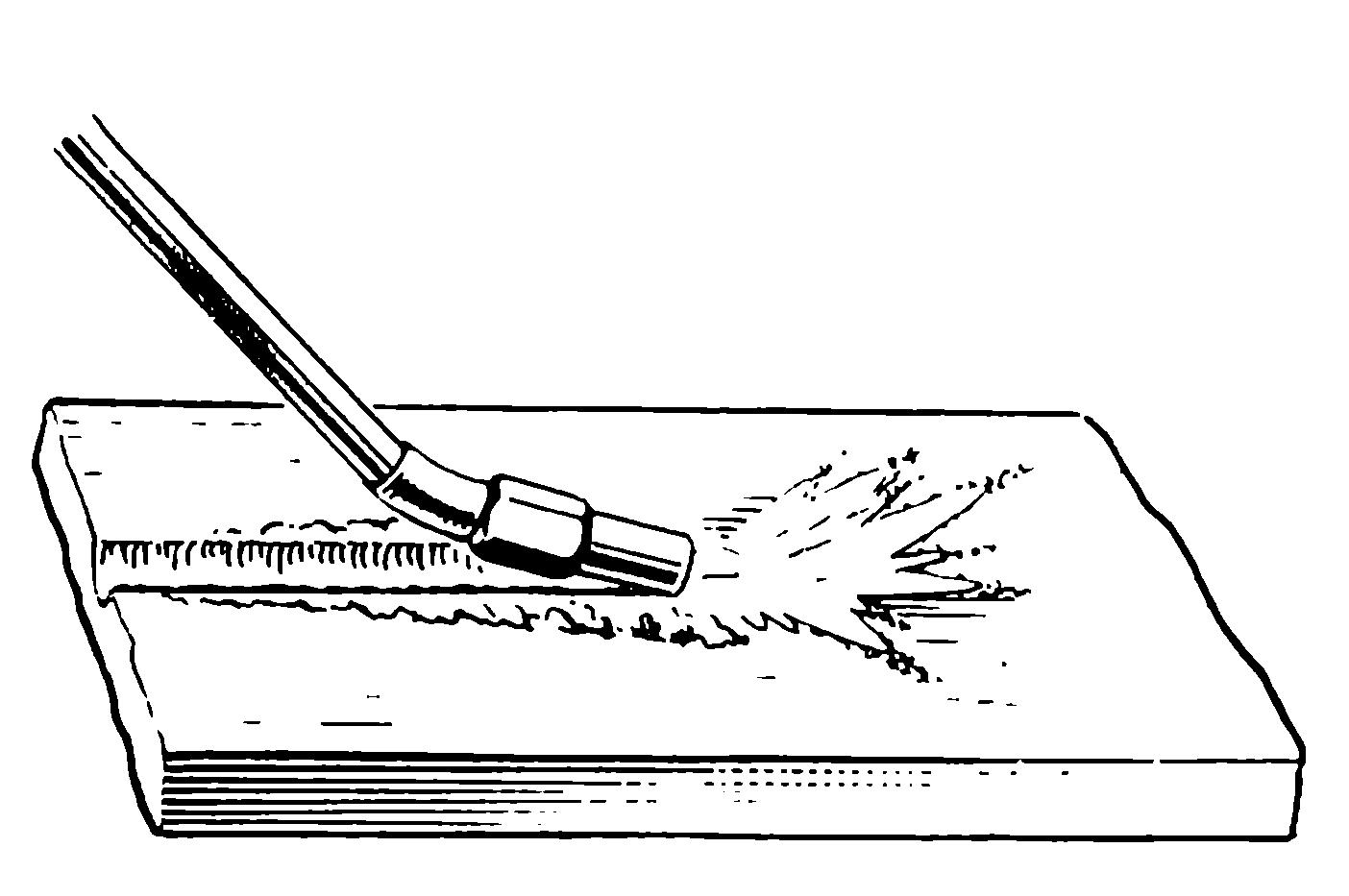 Газокислородная строжка. Ист. http://sudoremont.blogspot.nl/2015/03/redstapenaya-strojka.html.