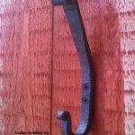 кованый ключок двухрожковый