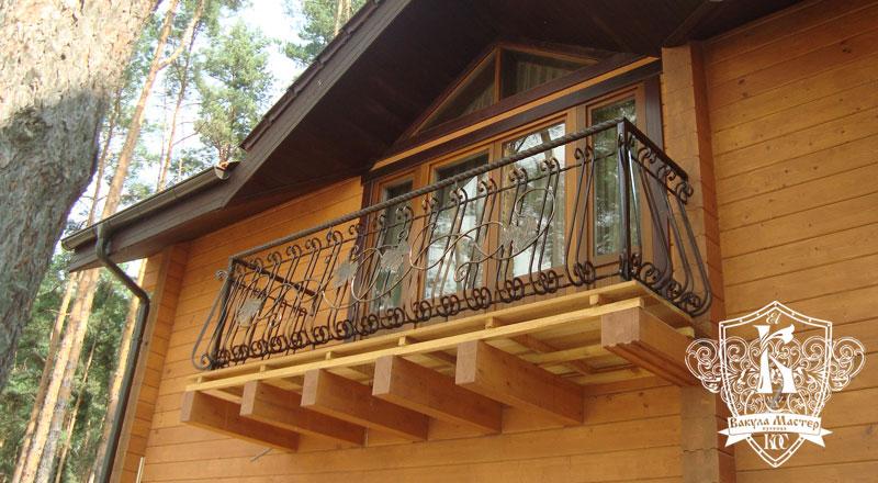 необычной сварные балконы в деревянном доме фото демократичный цене лёгкий