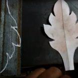 Листья кованые своими руками