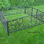 Кованые ограды (фото)