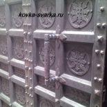 Двери кованые (фото)