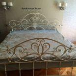 Кованые кровати (фото)