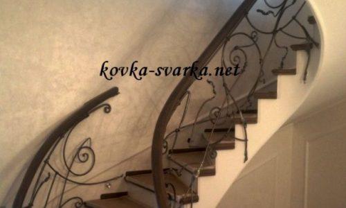 Элементы кованых лестниц