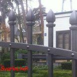 Кованые заборы, ограждения, ограды, оградки, изгороди — в чем разница