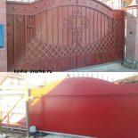 Кованые ворота откатные: особенности и преимущества
