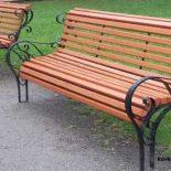 Кованые скамейки и лавочки в ландшафтном дизайне, этапы изготовления на заказ