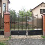 Металлические ворота- как выбрать из разных видов
