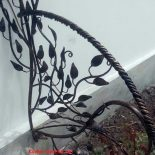 Кованые мангал, забор, решетка с листьями и другие работы кузнечного цеха Сварог