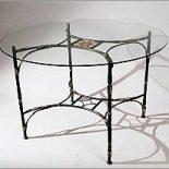 Кованый круглый стол ШкоМ «Бамбук»
