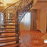 Кованые лестницы: виды