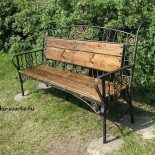 Выбор подходящего стиля кованой скамейки