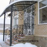 Кованые лестницы, козырьки, крыльцо, балкон от Аркадия Гетман