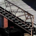 Стили кованых лестниц