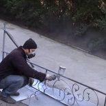 Невысокий заборчик, оградка для палисадника своими руками: видео