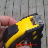 Рулетка для кузнецов и сварщиков — магнитная