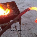 Как изготовить горн кузнечный переносной из подручных материалов (часть 2). 16 фото и видео