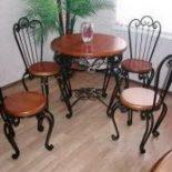 Кованые стулья – фото